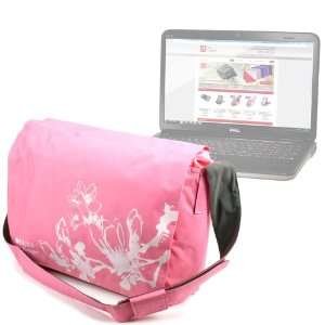 Laptop Pink Carry Case For Dell XPS 15z, XPS 15 L502x, Inspiron 15