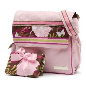 Pink Bird Messenger Diaper Bag Baby