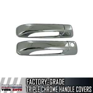 2009 2012 Dodge Ram 2dr Chrome Door Handle Covers (No
