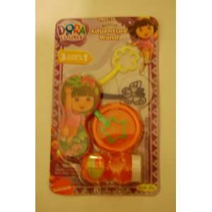 Dora Bubble Adventure Wand Toys & Games