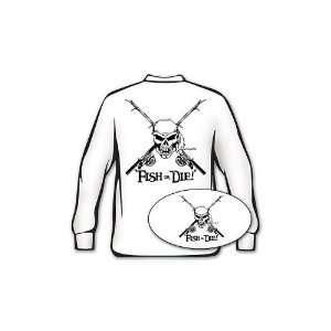 Fish or Die Fishing Shirt   Medium