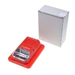 Red System Sensor Fire Alarm Horn Strobe Wall 24v