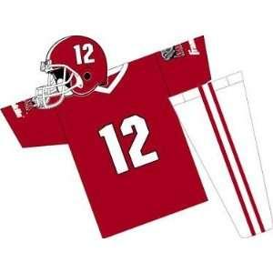 Alabama Crimson Tide Youth NCAA Team Helmet and Uniform Set (Medium