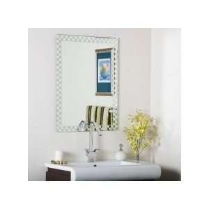Wonderland SSM48 Decor Checkers Frameless Wall Mirror