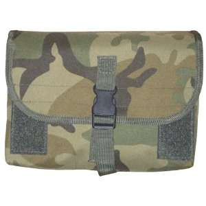 Camo MOLLE Gas Mask/Drum Magazine Tactical Pouch Airsoft/Military