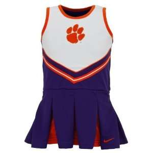 Academy Sports Nike Infant/Toddler Girls Clemson Cheerleader Set