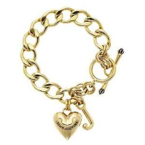 Juicy Couture Jewelry Gold Starter Charm Bracelet Jewelry