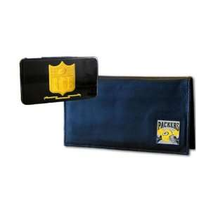 Green Bay Packers Deluxe Checkbook Cover Sports
