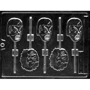 MONSTERS LOLLY Halloween Candy Mold Chocolate Home