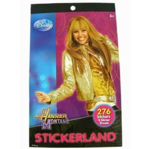 Disney Hannah Montana Stickerland 4 Sticker Sheets   276