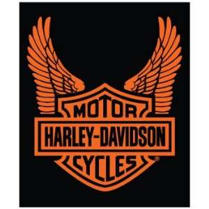 Harley Davidson Super Plush Throw blanket