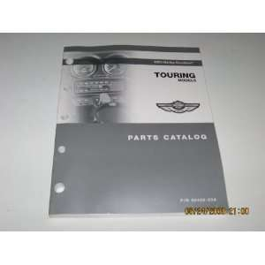 2003 Harley Davidson Touring Models Parts Catalog Harley Davidson