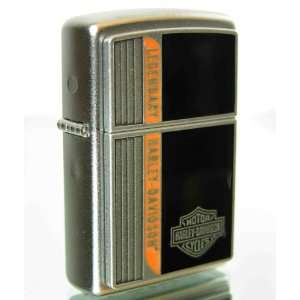 Zippo Harley Davidson Legendary Lighter (Silver, 5 1/2 x 3