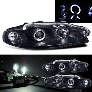 Eautolight Mitsubishi Eclipse Halo Projector Black Headlight Head Lamp