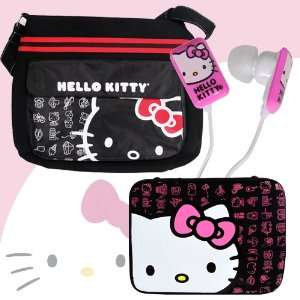 Bag #20909 BLK (Black) + Hello Kitty 16 Neoprene Zippered Notebook