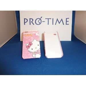Hello Kitty Plastic Case for Iphone 4  pink Cell Phones & Accessories