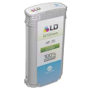 LD © Compatible Hewlett Packard C9390A (HP 70) Light Cyan
