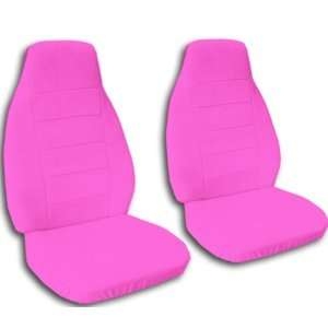 Hot Pink seat covers for 2008 Toyota Tacoma. Fit nice and snug