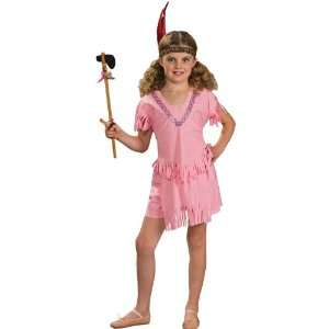 Lets Party By Rubies Costumes Indian Girl Child Costume / Pink   Size