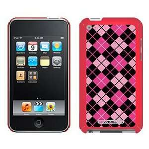 Argyle Pretty in Pink on iPod Touch 4G XGear Shell Case