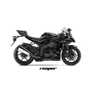 AMR Racing 2008 2010 Kawasaki Ninja Zx10, Z X10. Sport Bike Graphic