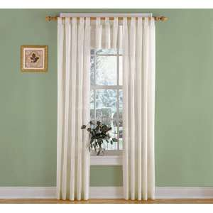 Taylor Tab Top Valance, ea. 40W x 15L Home & Kitchen