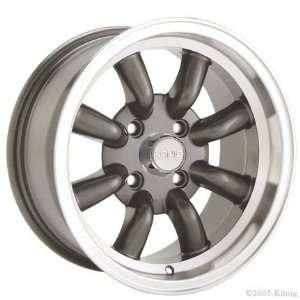 14x7 Konig Rewind (Graphite w/ Machined Lip) Wheels/Rims