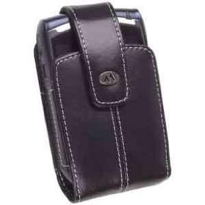 Milante Katteh Vertical Leather Case, MIL 65LBW, Black