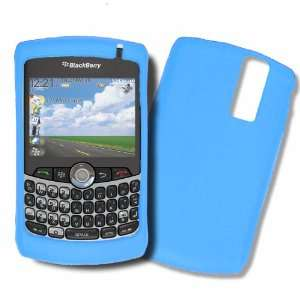8330 Light Blue Silicone Case, Rubber Skin Cover, Soft Jelly Housing