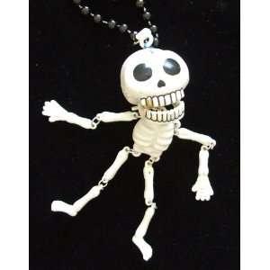 Human Skeleton Bones Skull Mardi Gras Beads New Orleans Bone : Toys