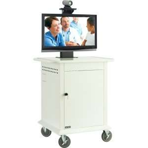 Avteq TMP 600 Display Stand. TELEHEALTH CART F/ PLASMA LCD LED MEDICAL