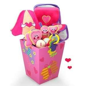 Baby Girl Gift Basket Melissa & Doug Purse Fill & Spill