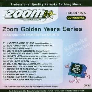 Karaoke CD+G   Golden Years 1976   15 Karaoke Hits Zoom Karaoke