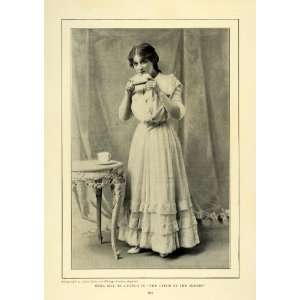 1905 Print Edna May American Stage Actress Singer Play