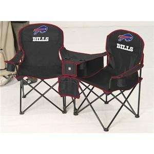 Buffalo Bills NFL Deluxe Folding Conversation Arm Chair by