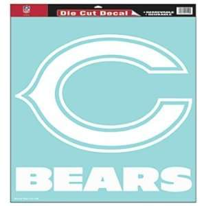 Chicago Bears Nfl 18X18 Die Cut Decal Wincraft Sports