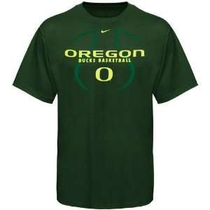 Nike Oregon Ducks Youth Green Basketball Practice T shirt