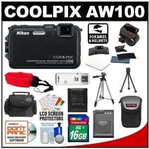 Nikon Coolpix AW100 Shock & Waterproof GPS Digital Camera