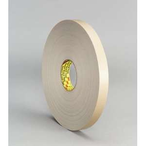 4492 White Double Sided Foam Tape   3/4 x 72 yards Office Products