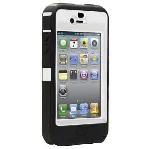 OtterBox Defender Case for iPhone 4 (White/Black, Fits AT&T iPhone
