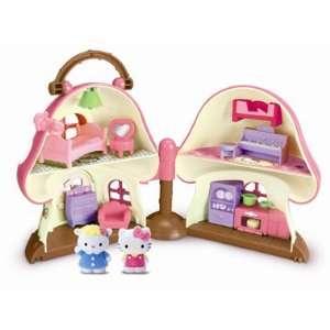Hello Kitty Vellutata Mushroom House Toys & Games