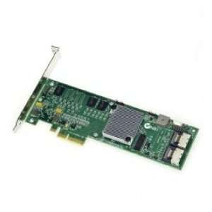 Intel Controller Card Srcsatawb Raid Pci E X 4 Low Profile 8 Port Sata