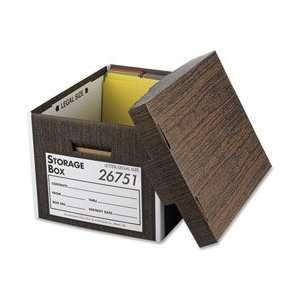 BSN26751   Storage Boxes, Lift Off Lid, Ltr/Lgl, 10x12x15