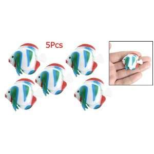 Colorful Plastic Floating Fish Aquarium Tank Ornament Pet Supplies