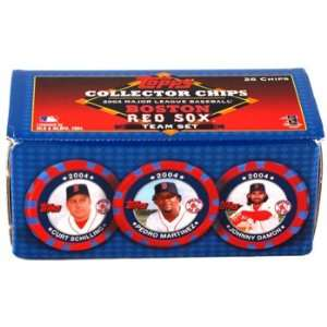 Red Sox   Collector Poker Chips: Sports & Outdoors