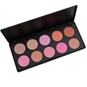 10 Piece Professional Blush Palette (non Coastal Scents ) Beauty