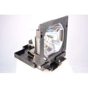 Sanyo PLV WF10 projector lamp replacement bulb with housing   high