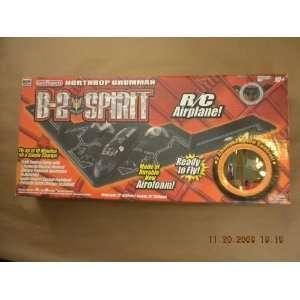 Northrop Grumman B 2 Spirirt Radio Controlled Airplane Toys & Games