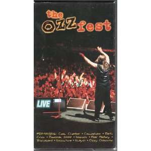 Ozzyfest 1 Live [VHS] Ozzy Osbourne Movies & TV