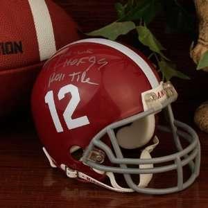 NCAA Riddell Alabama Crimson Tide Ozzie Newsome
